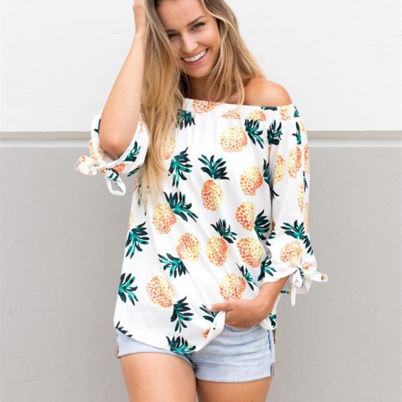 blusas de piñas mujer