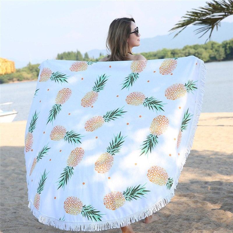 toalla piña redonda