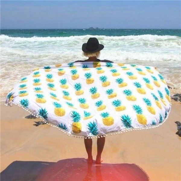toalla piña playa