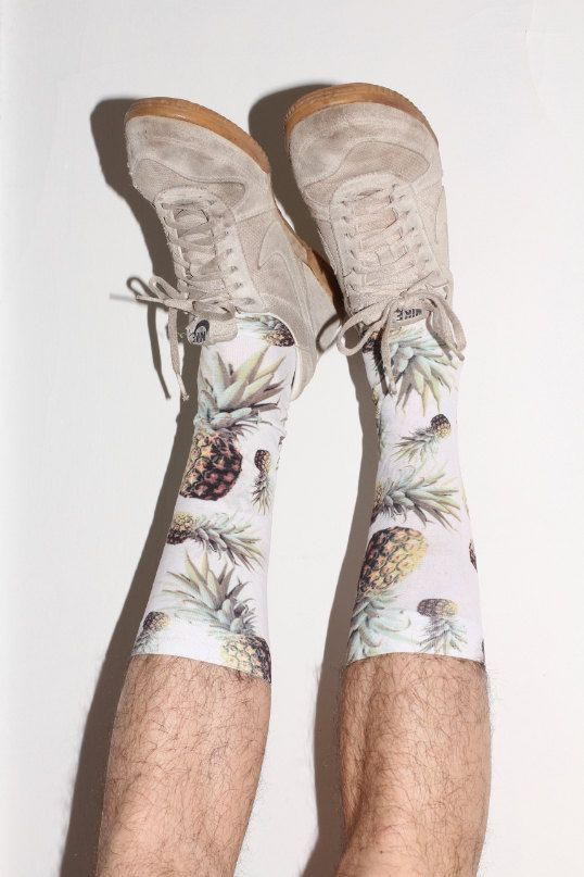 calcetines piñas